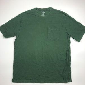 Duluth Men's Long Tail T-shirt Size XL Green SG11